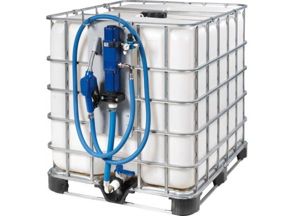 Standard air operated AdBlue pump kit for IBC pods