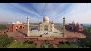 ***** Taj Mahal, India. AirPano, a través de Caters News Agency.