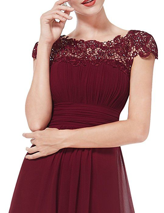 Ever Pretty Womens Formal Mother of the Bride Groom Dress 10 US Burgundy