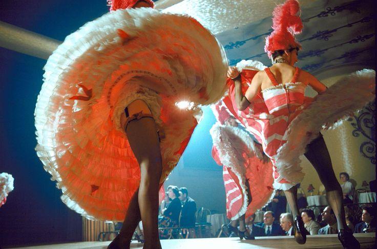 Moulin Rouge: Vintage Color Photos of a Legendary Cabaret's Dancers