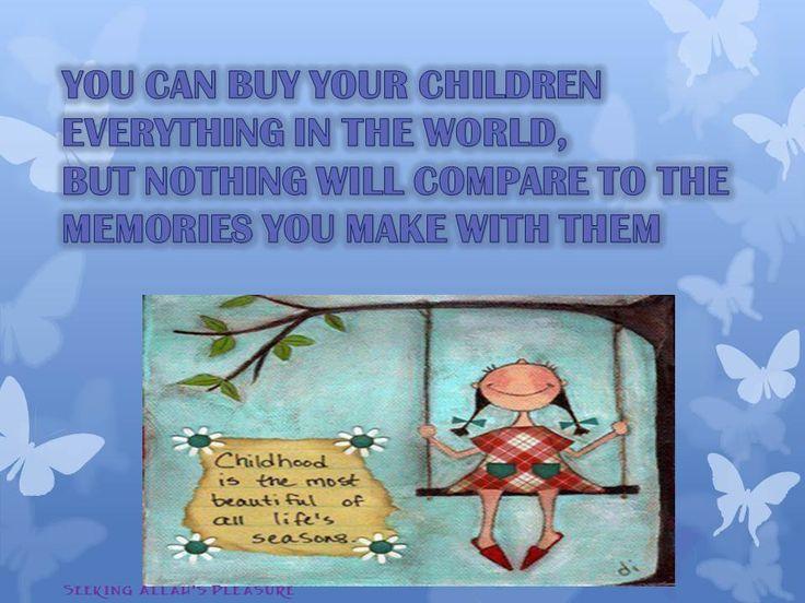 memories with children