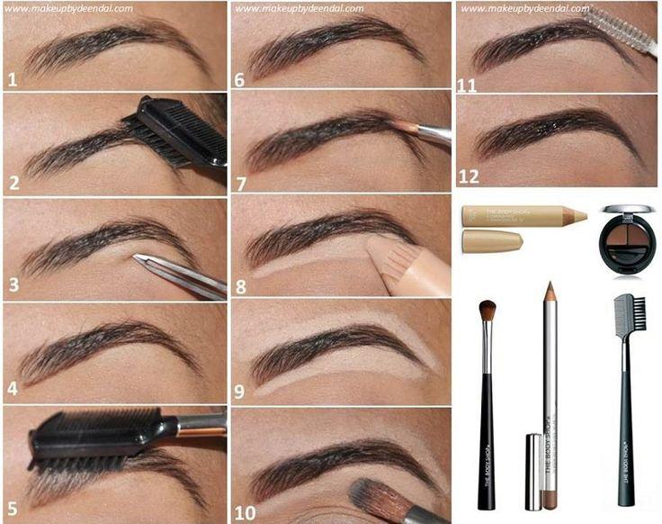 Encuentra la forma de cejas ideal para tu tipo de rostro