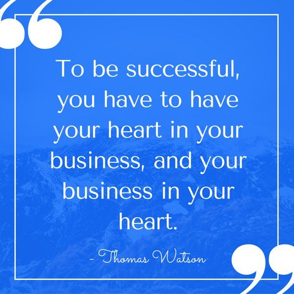 Quote about business and success.