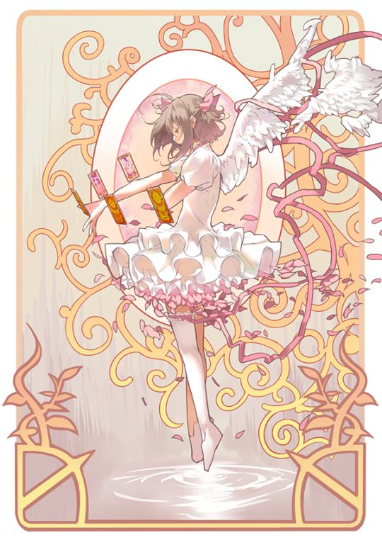 This is one of the most beautiful Cardcaptor Sakura fanarts i have seen
