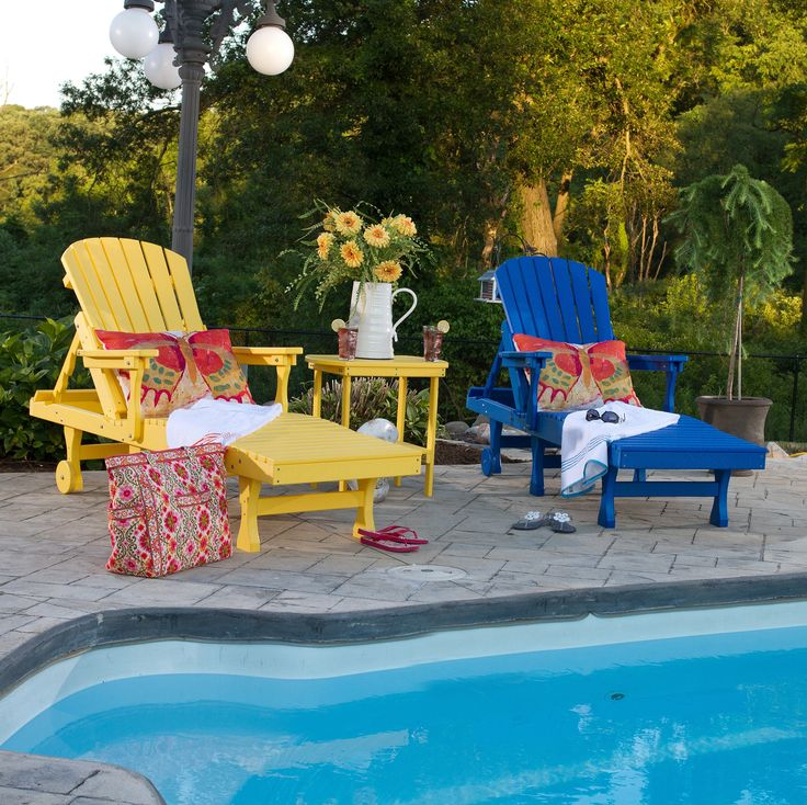 Berlin Gardens Comfo Back Chaise Lounge Set