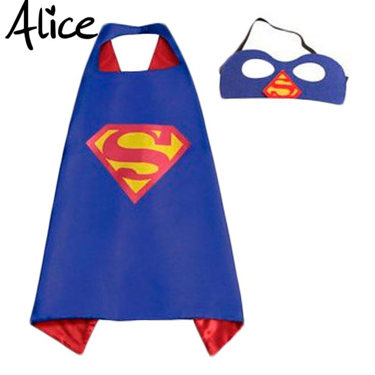 Mask+cape superman spiderman kids superhero capes batman superhero costume suits for boys girls for party #>=#>=#>=#>=#> Click on the pin to check out discount price, color, size, shipping, etc. Save and like it!