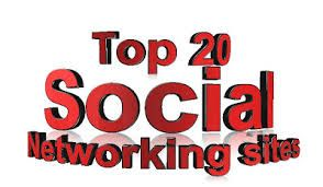 Top 20 Most Popular Social Networking Sites