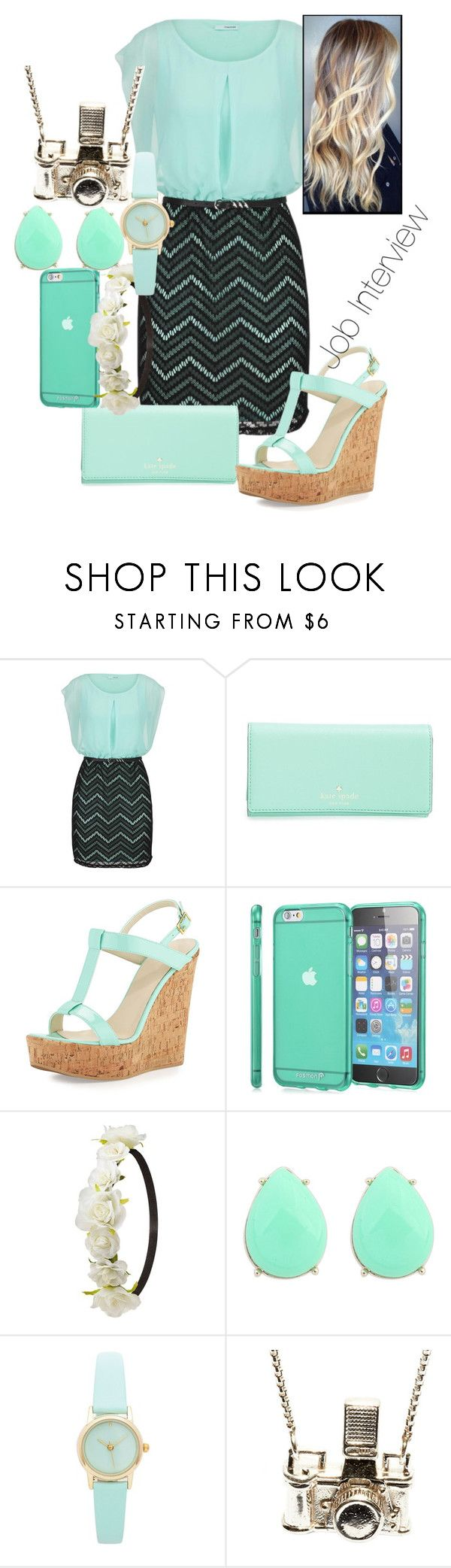 """""""Job Interview"""" by samirogers1104 ❤ liked on Polyvore featuring maurices, Kate Spade, Dee Keller, Charlotte Russe and Kiel Mead Studio"""