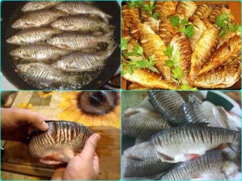 Как же получить жаренную рыбу без костей? Вы знаете такой маленький секрет жарки рыбы ? Теперь можете покупать рыбу и с мелкими костями - Вы их не почувствуете, а как это сделать? Рецепт этот подойдё…