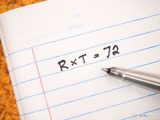 5 Ways to Use the Rule of 72 - wikiHow