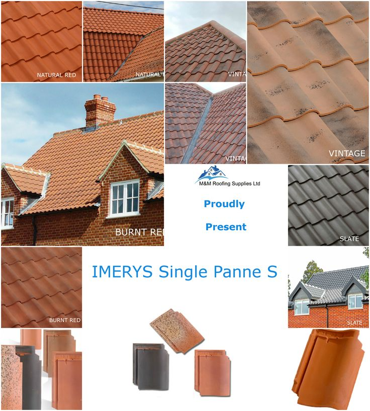With Its Traditional Old English Appearance The Single Panne S Tiles Is  Perfectly Suited For Any
