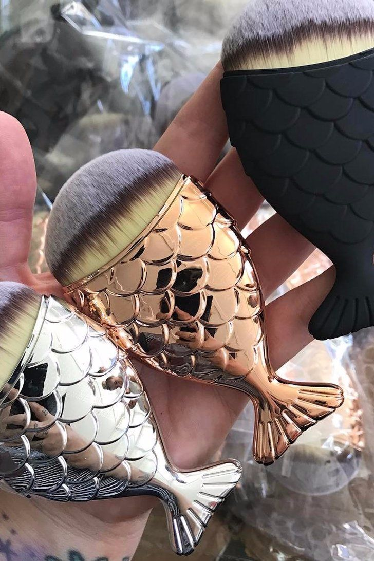 We Can't Wait to Get Our Fins — Er, Hands — on These Mermaid Makeup Brushes