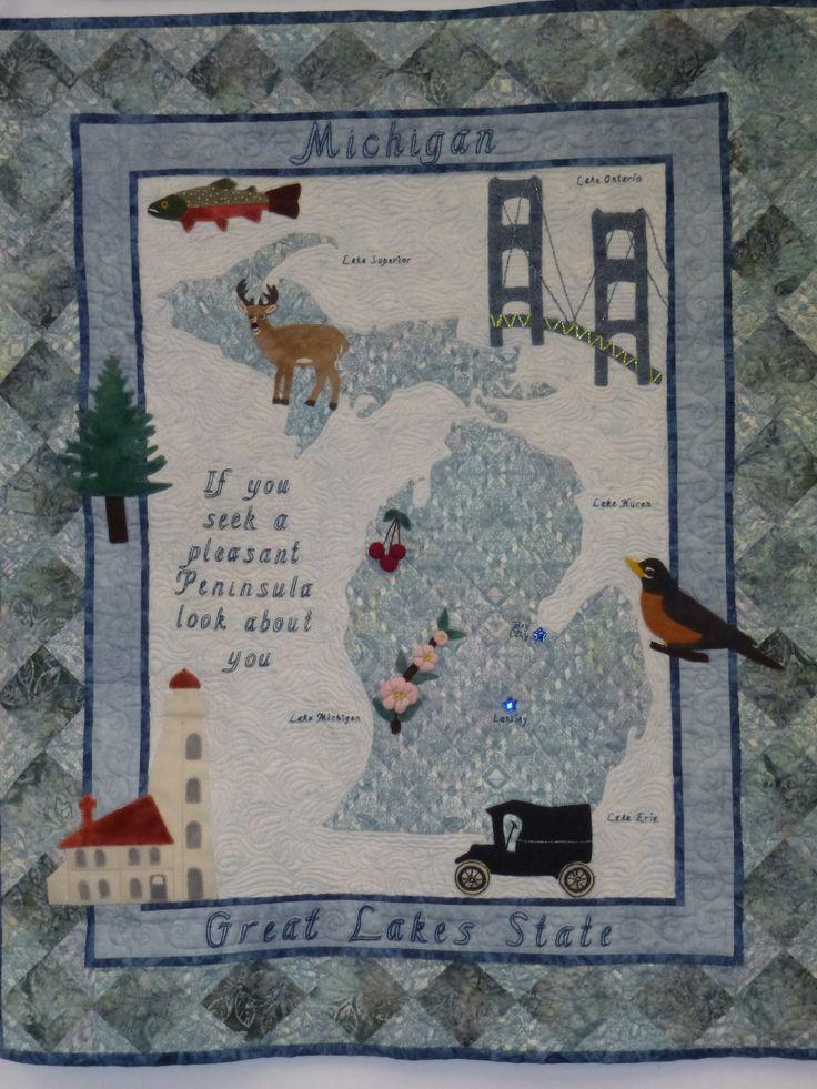 93 best michigan & Indiana quilt shop images on Pinterest ... : michigan quilts - Adamdwight.com