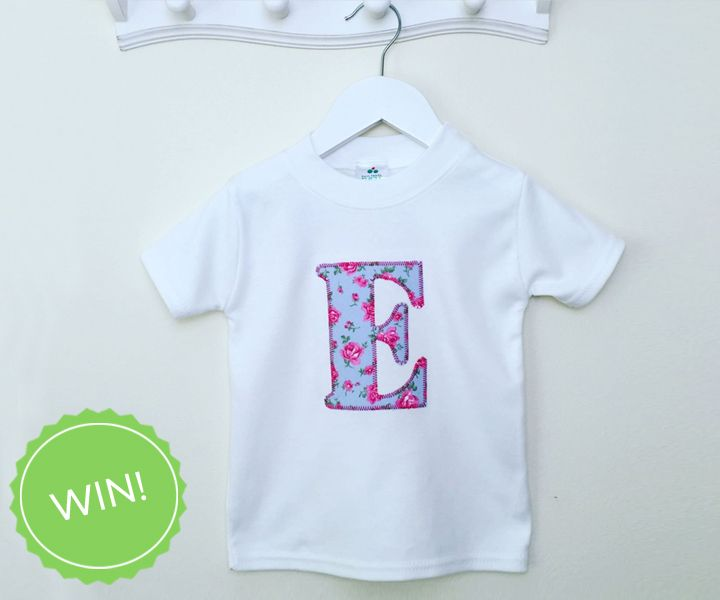 #WIN an amazing personalised floral kids top from Two Little Peas And Me with #FreebieFriday! Enter on the Create Facebook. facebook.com/create