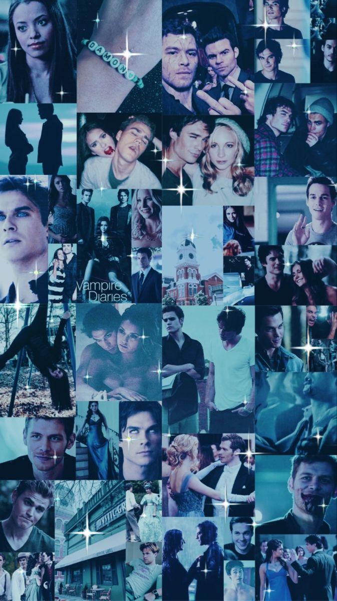 The Vampire Diaries Collage Vampire Diaries Wallpaper Vampire Diaries Funny Vampire Diaries Poster
