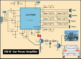 8e256219316cfb1740ab7f6c938c81d4 car amplifier circuit best 25 car amplifier ideas on pinterest car stereo speakers pyle plmra400 wiring diagram at creativeand.co