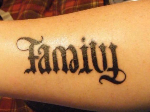 Back To The Future Font Generator: 38 Ambigram Tattoos You'll Have To See To Believe