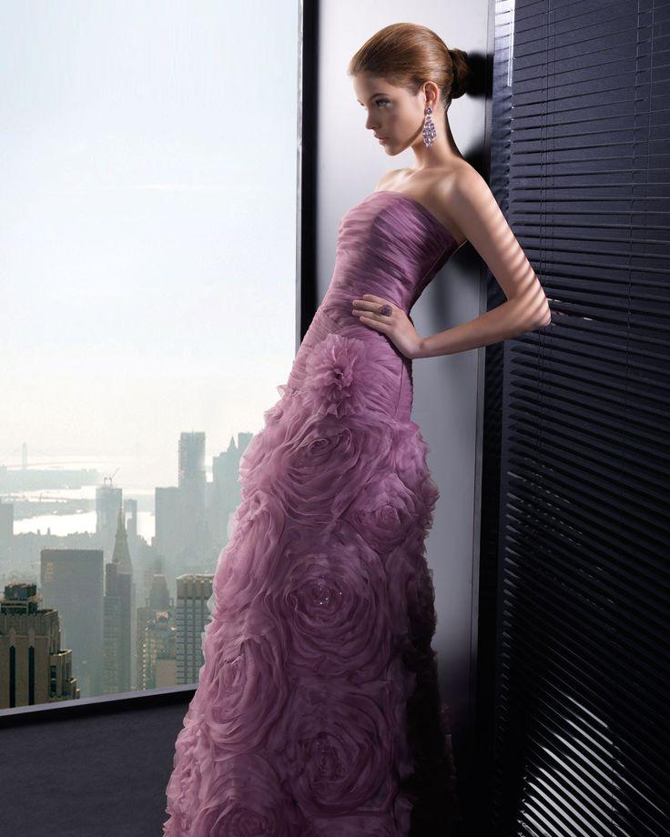 Tiefe Taille Traegerlos mit Bodenlang Abendkleid Perc0075 für192€ # landybridal fashion wedding dream dress style