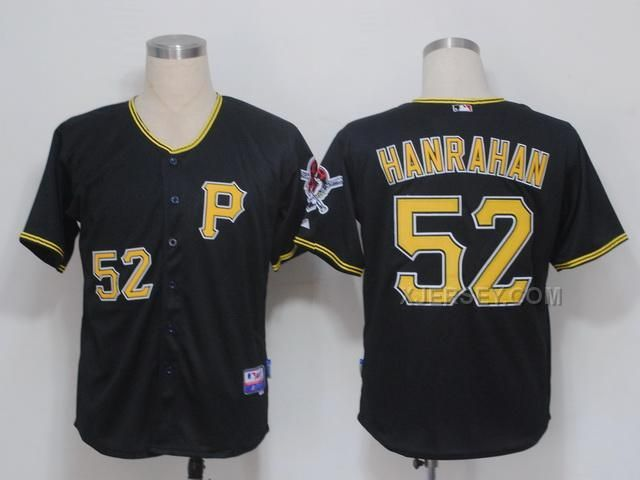 http://www.xjersey.com/pirates-52-hanrahan-black-jerseys.html PIRATES 52 HANRAHAN BLACK JERSEYS Only $34.00 , Free Shipping!