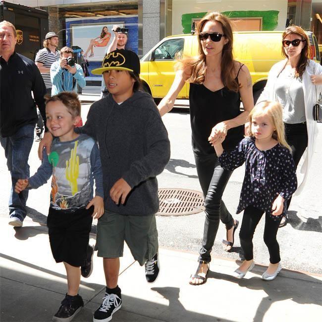 Los hijos de Angelina Jolie 'no quieren ser actores'