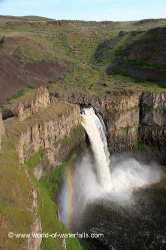 Palouse Falls, .near Walla Walla / Franklin County / Whitman County, Washington, USA