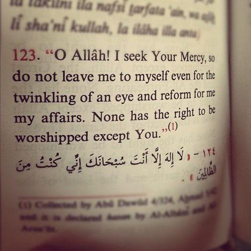 """islamic-quotes: """"Mercy """""""