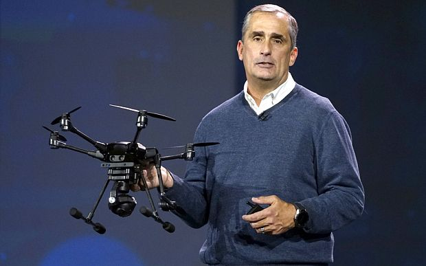 #CES2016 - Drona cu Intel RealSense | IT cookies