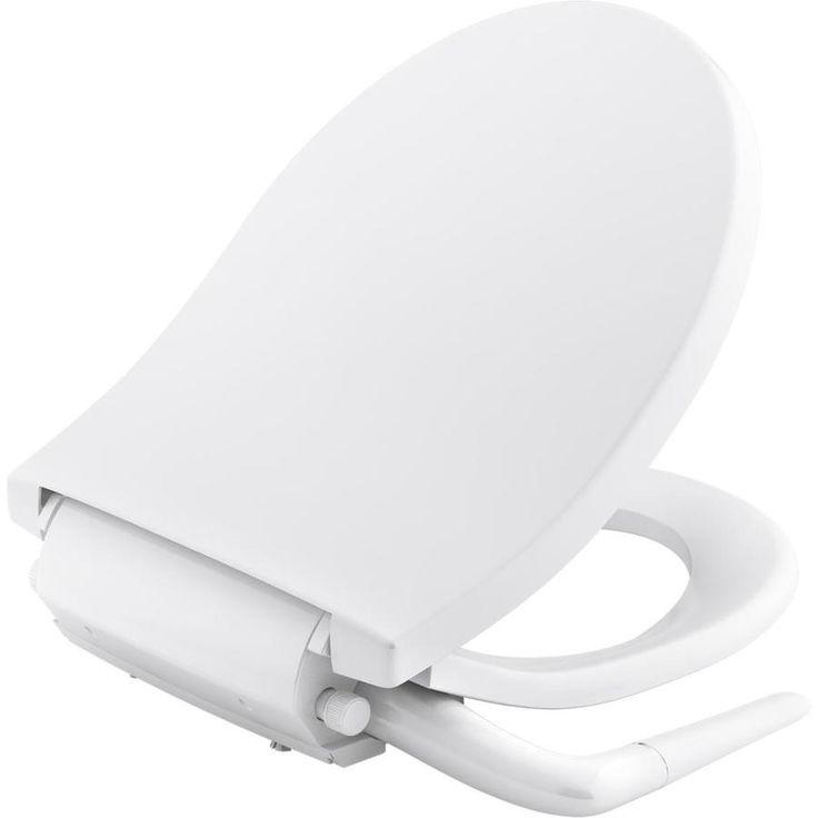 Kohler Puretide Plastic Round Slow Close Bidet Toilet Seat 76923 0