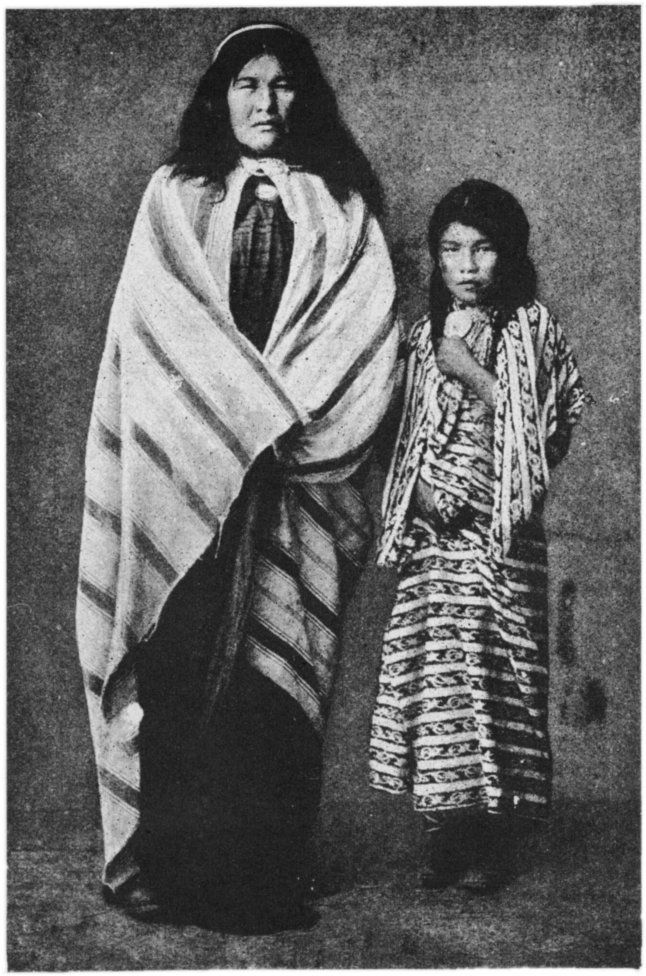 Tehuelche Indians of Patagonia