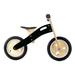 Graffiti Series Balance Bike - Black. Wooden balance bike your kids can draw on! $99