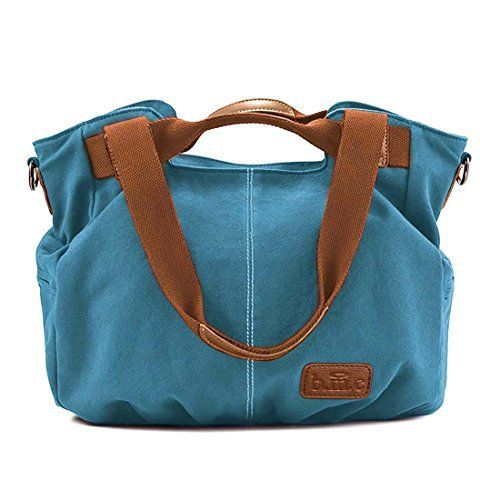 New Trending Shopper Bags: BMC Womens Cyan Blue Textured Canvas Double Top Handle Lightweight Shoulder Tote Travel Shopper Handbag. BMC Womens Cyan Blue Textured Canvas Double Top Handle Lightweight Shoulder Tote Travel Shopper Handbag  Special Offer: $20.94  244 Reviews This cyan blue, lightweight, double top handle handbag is perfect for everyday use. The bag is made of a durable canvas material. The roomy main...