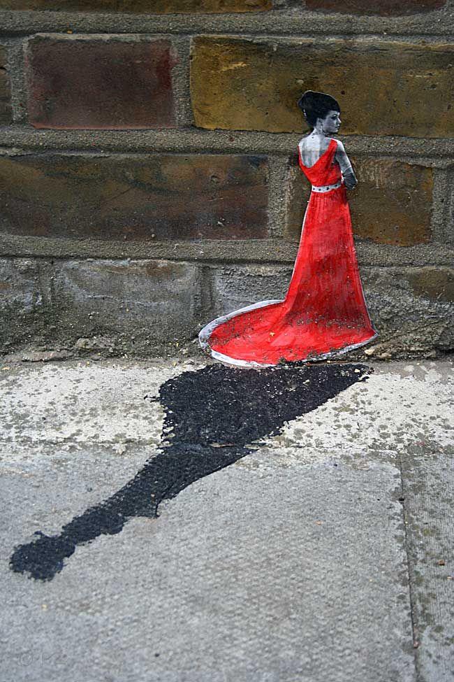 Miniature Street Art by Pablo Delgardo - London