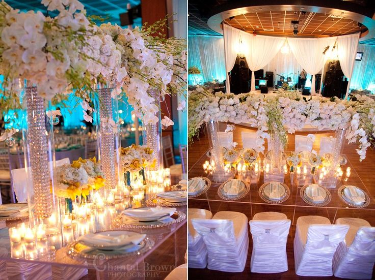 14 best wedding reception decorations images on pinterest wedding dallas wedding reception beautiful detailed diamond crystal white roses centerpieces by chantal brown photography junglespirit Images