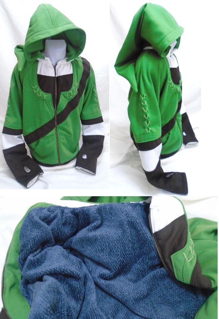 Custom Legend of Zelda Link Hoodie