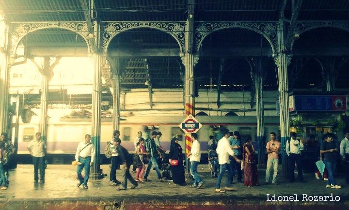 Bandra Station, Bombay.