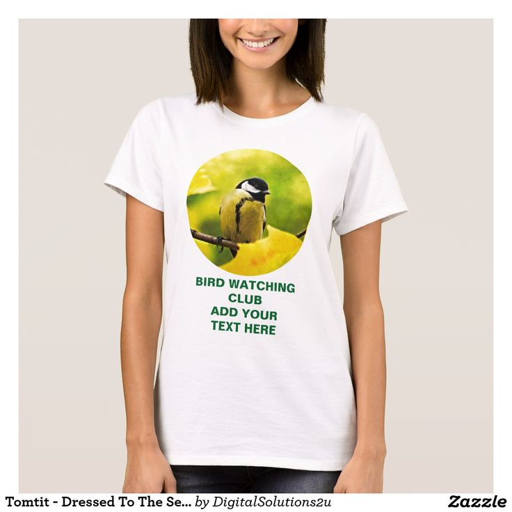 Tomtit - Dressed To The Season T-Shirt