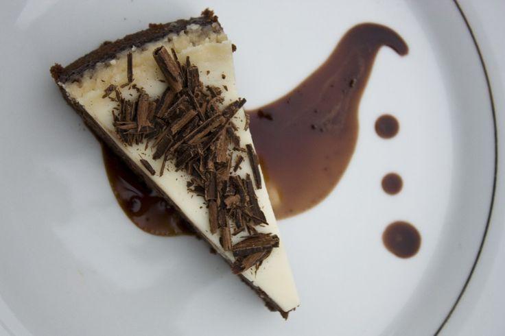 Chocolate Cheesecake with Nutella Mocha Affogato #Nutella