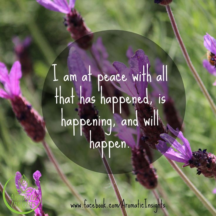 Affirmations - I am at peace