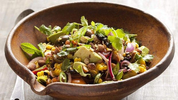 Caroline Velik's summer salad recipes.