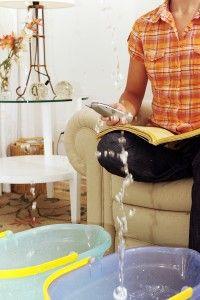 Tips for restoration after water damage.