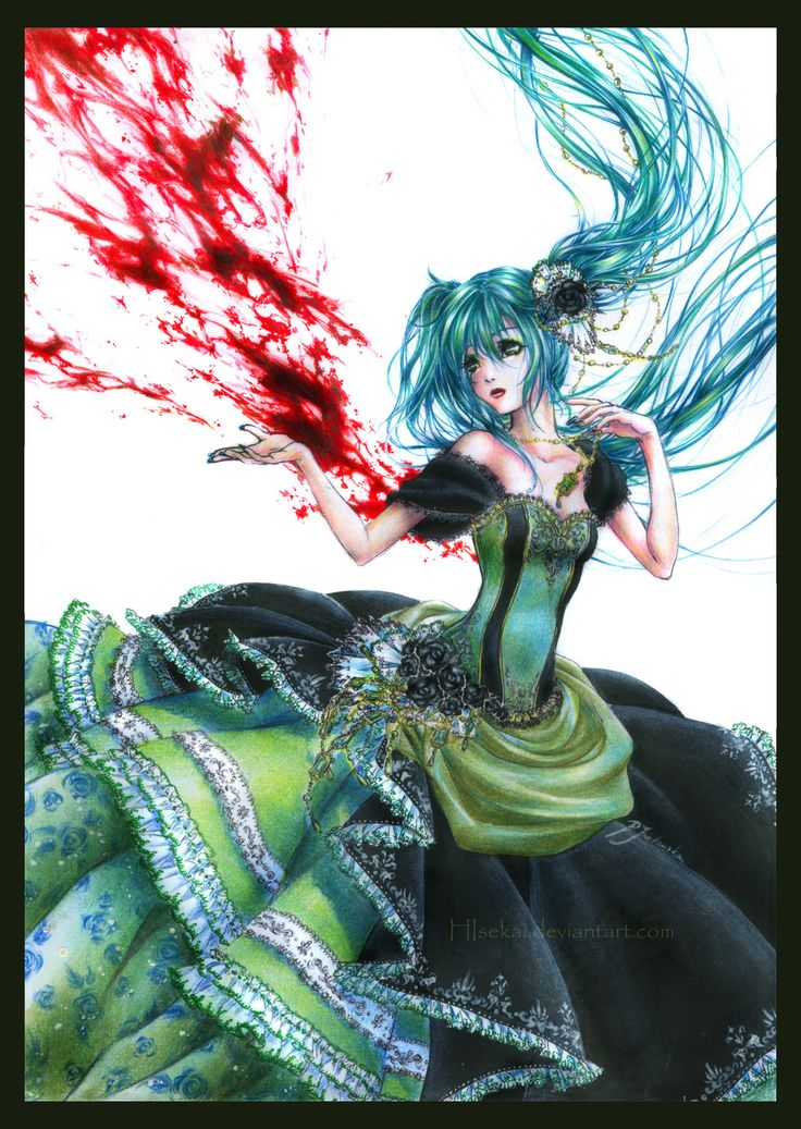The Story of Evil - Miku by ~HIsekaiDeviantart Tags, Vocaloid Stories, Animee Vocaloid Manga, Vocaloid Miku, Animal Pretty, Animee And Vocaloid, Evillious Chronicles, Hisekai Deviantart Com, Animal And Vocaloid