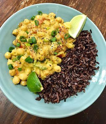 GATIM, MANCAM, SAVURAM: Curry de naut