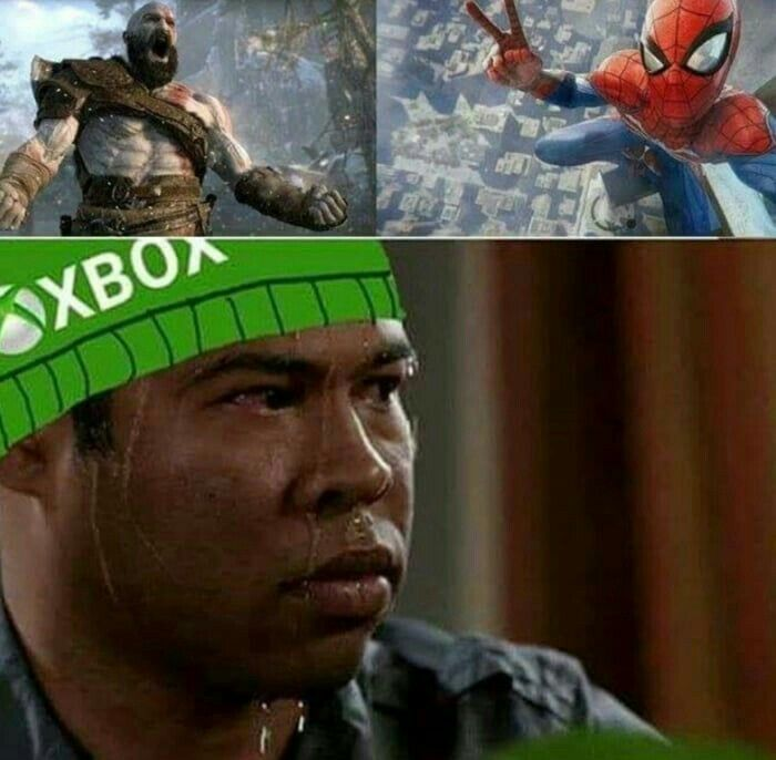 Pin By Stanley L On Memes Funny Games Spiderman Meme Gaming Memes