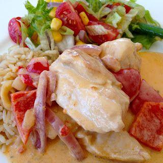 Anne Laila´s verden: Kylling med Creme Fraiche
