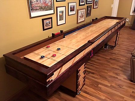 Build Your Own Table Shuffleboard