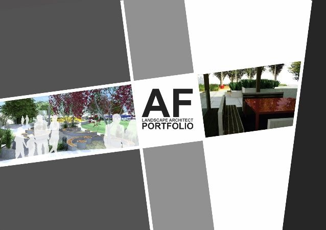 landscape architecture portfolio layout