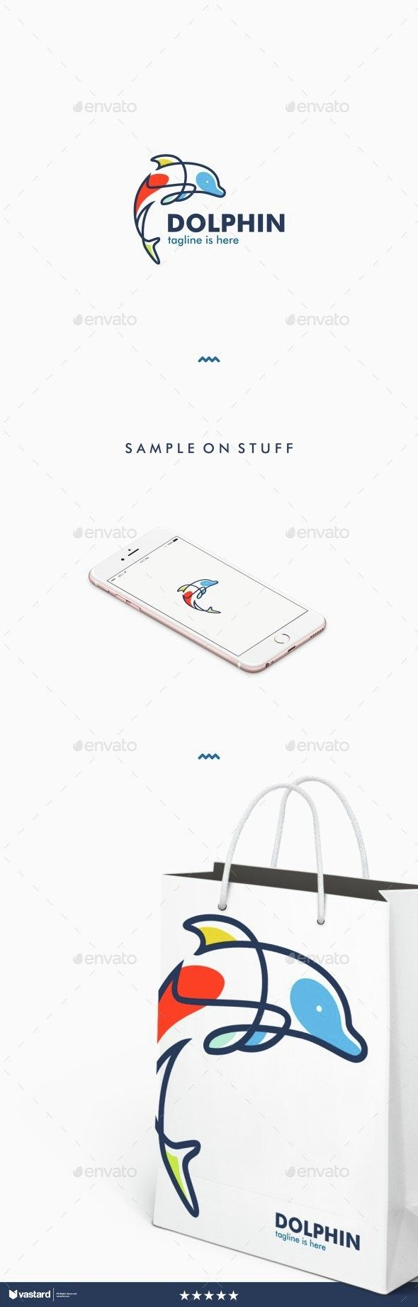 Dolphin logo — Vector EPS #sophisticated #trends • Available here → https://graphicriver.net/item/dolphin-logo/15178184?ref=pxcr