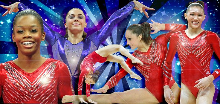 """Creating the leotards for Team USA's gymnasts is a process that takes a year and a half, thousands of Swarovski crystals, and many rounds of testing."""