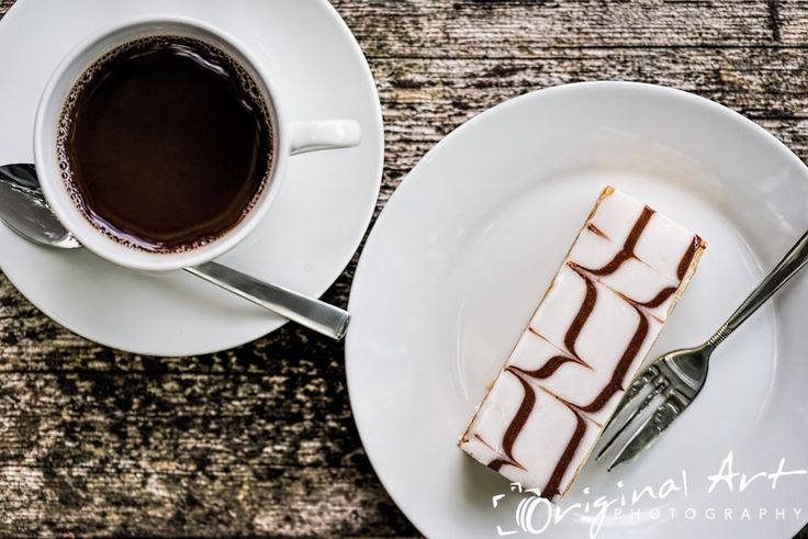 Afternoon Tea - tea and mille feuille -  sample shot for food photography workshop Food Photography Workshop - Sample pic-3 #afternoontea #food #foodphotography #cake