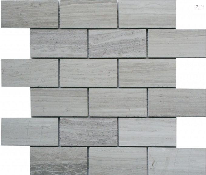 Escarpment 2x4 #tile #mosaic #faberstoneandtile